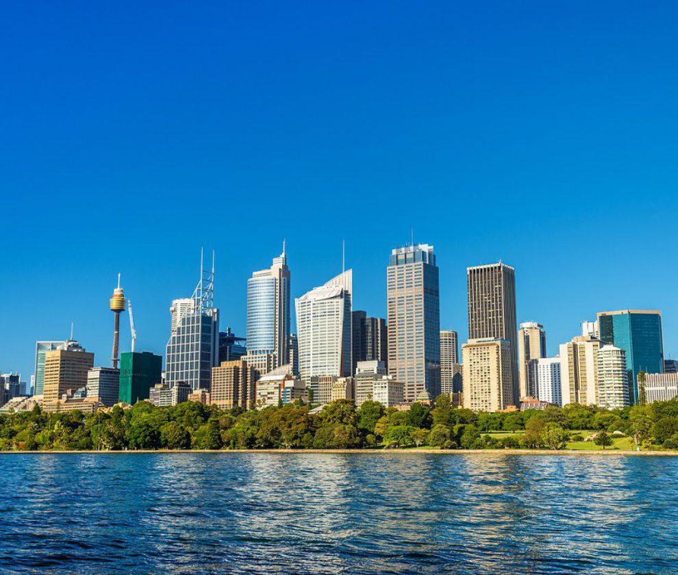 Skyline of Sydney central business district - Australia